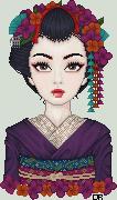 Geisha Portrait by insomniac-sundancer