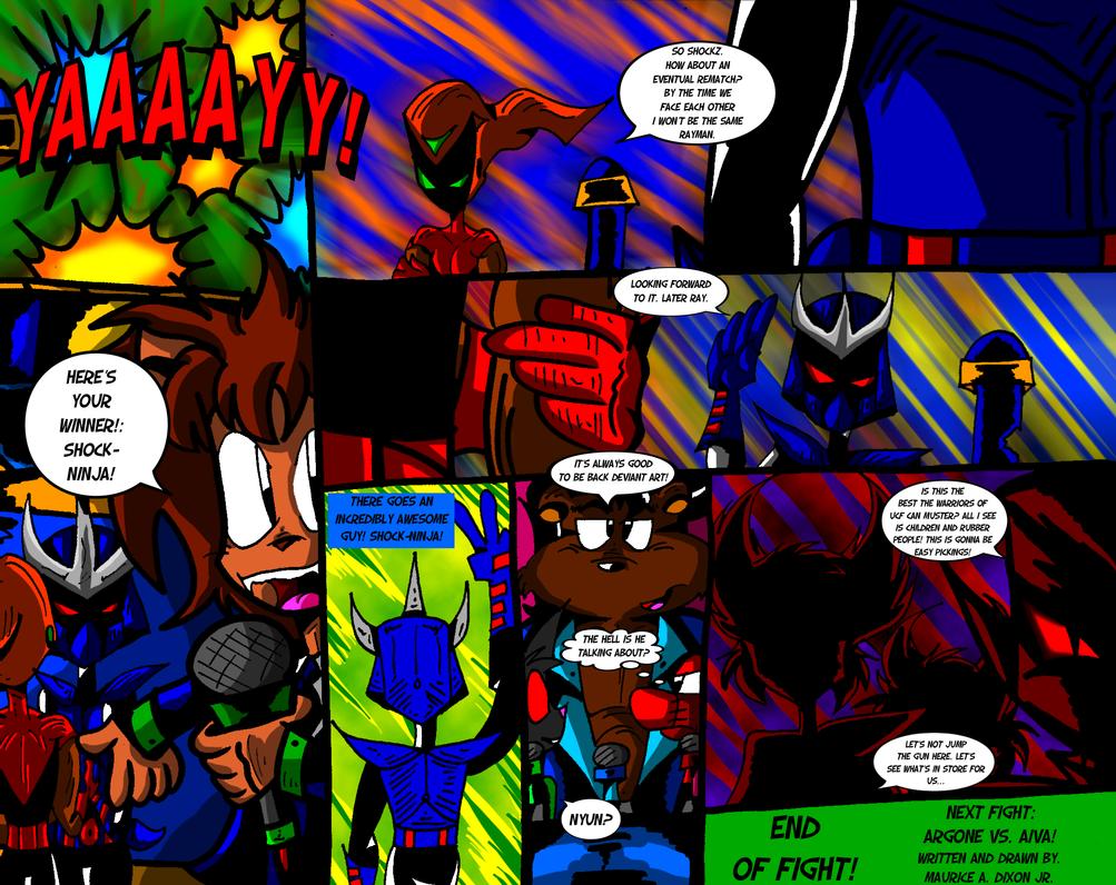 Shock Ninja Vs Rayman pg 20 by ralphbear