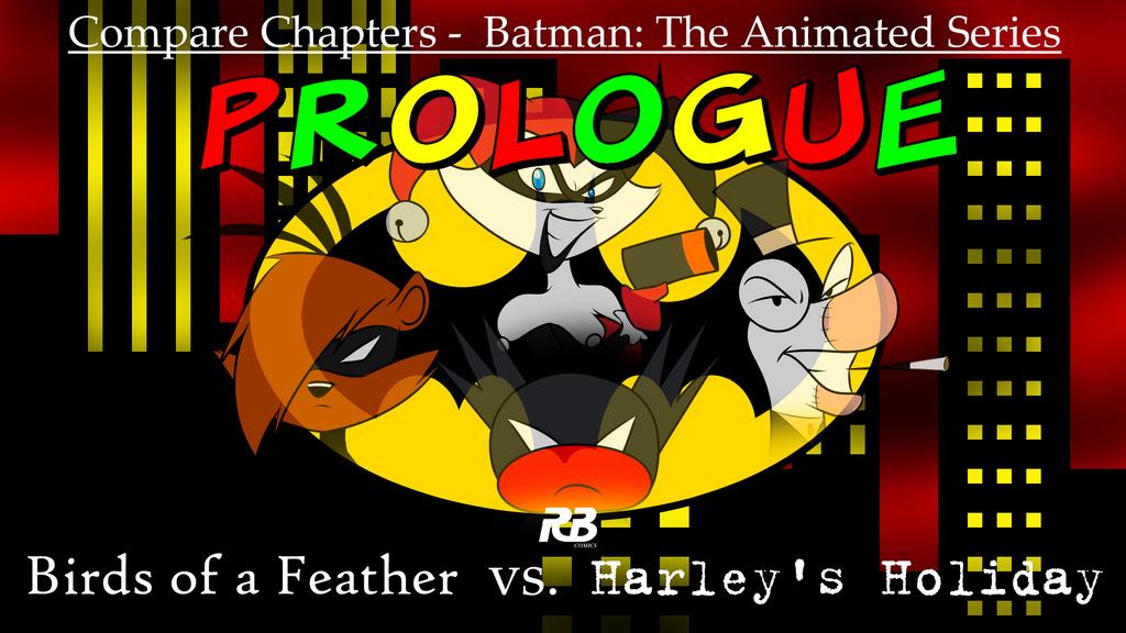 Batman Comparison Review Prologue by ralphbear