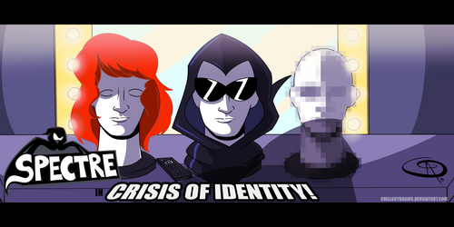 The Spectre - Crisis of Identity  ON SOUNDCLOUD by RBComics25