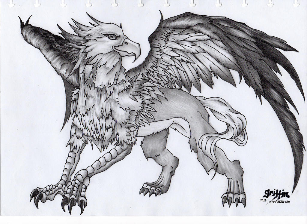 Gryphon and tattoos for The griffin