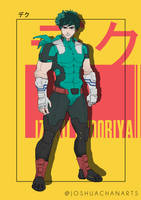 My Hero Academia - Izuku Midoriya, DEKU (Adult) by joshuacwy
