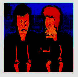 Beavis and Butthead by antisocialgurl