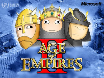 Age Of Empires Cartoon. by smess