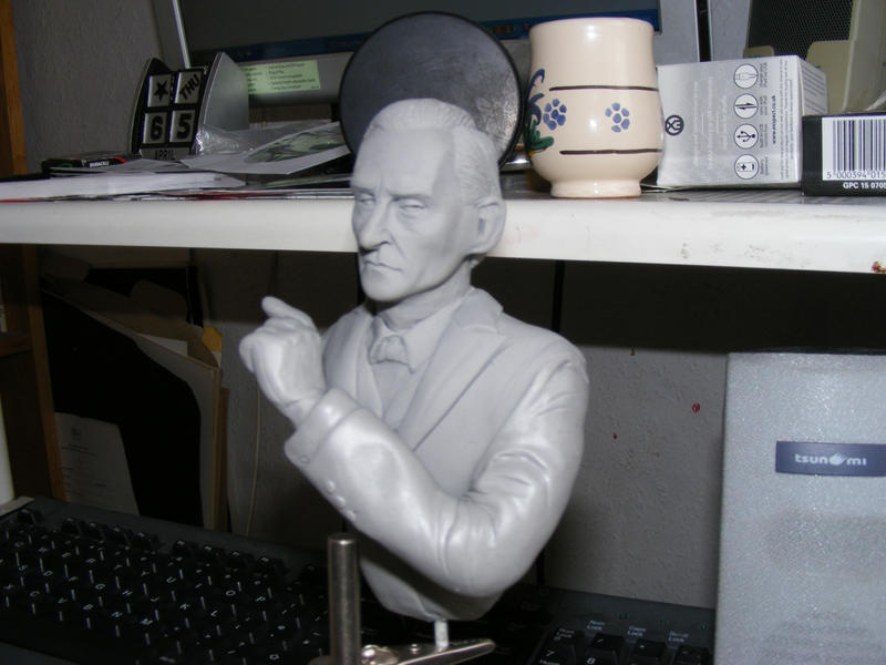 Sherlock Holmes bust 2 by frasierdalek