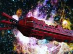 The Good Ship Red Dwarf by frasierdalek