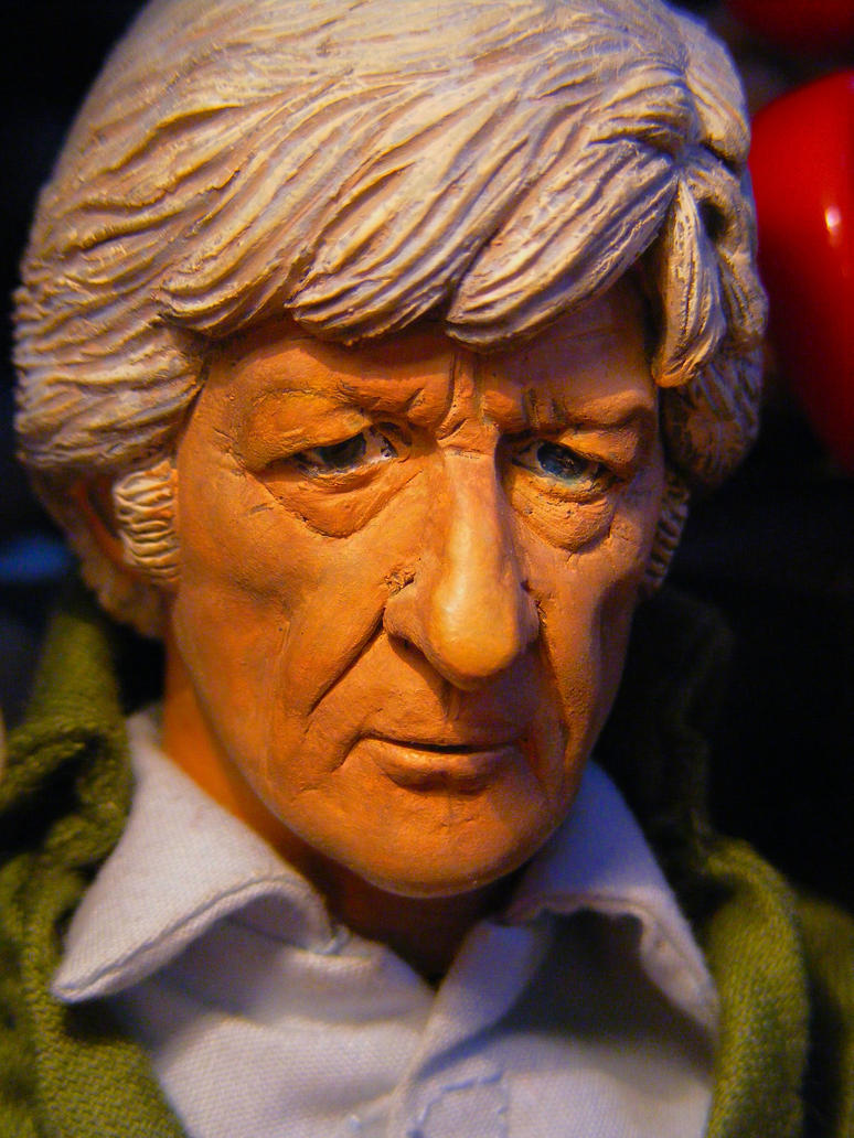 The Third Doctor by frasierdalek