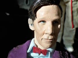 The Eleventh Doctor by frasierdalek