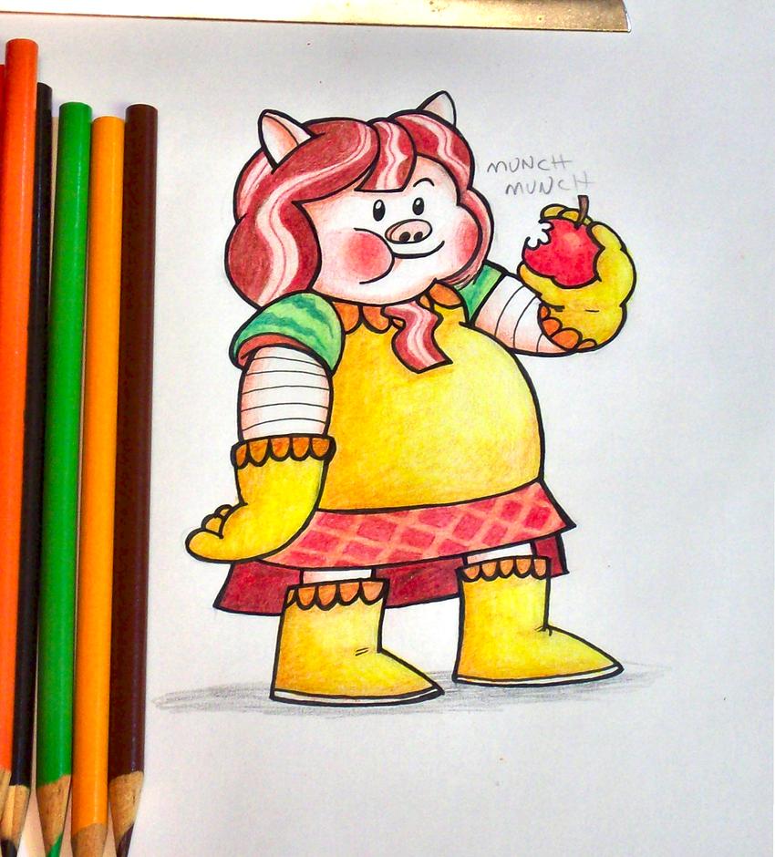 'plz draw bacon' by anotherblazehedgehog