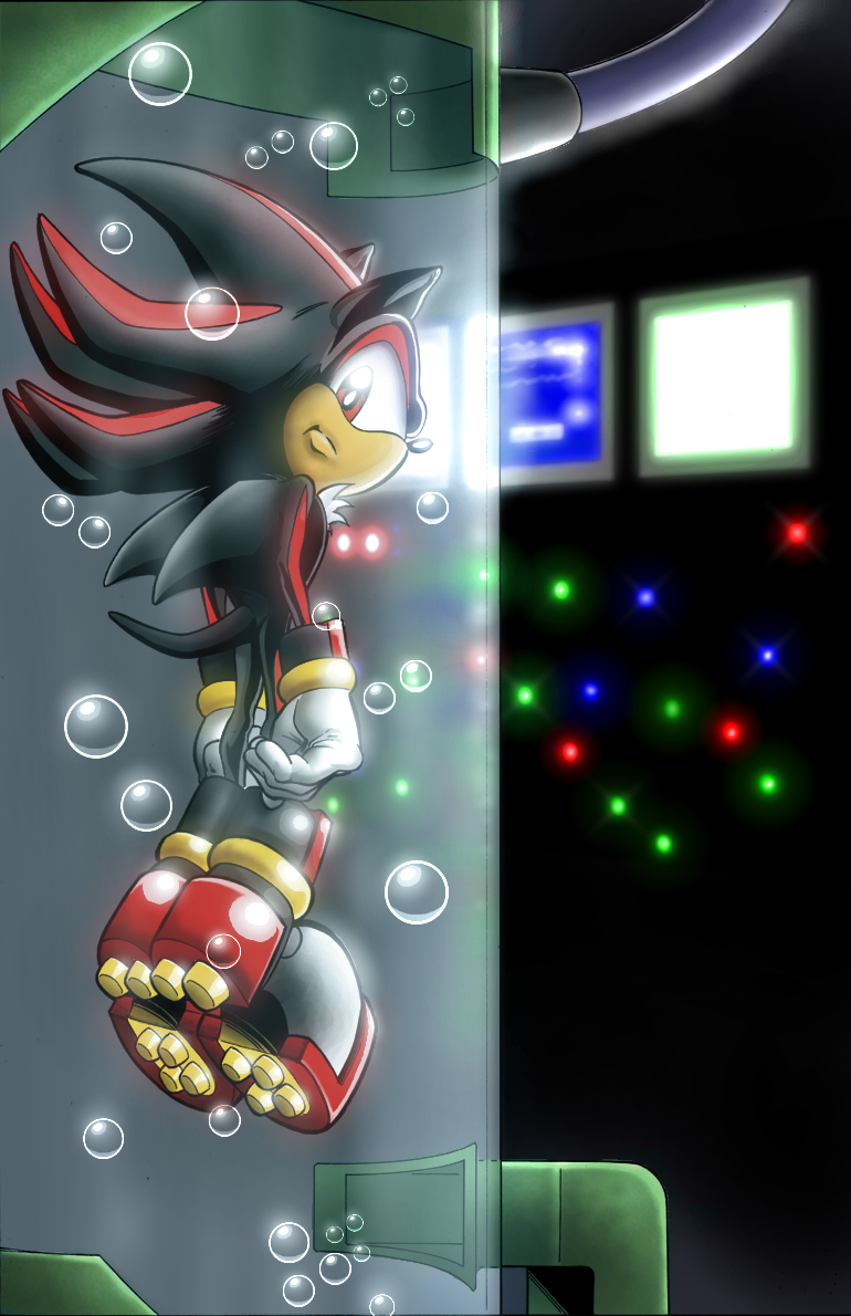 Shadow in a Tube by anotherblazehedgehog