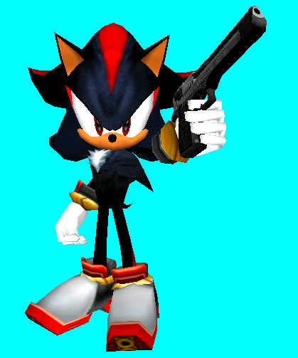 HE'S GOT A GUN by anotherblazehedgehog