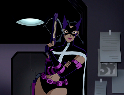 Huntress in JLU by ariwolfy on DeviantArt