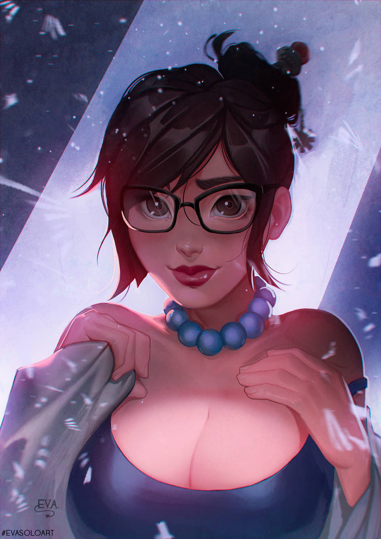 Mei portrait by EvaS0L0