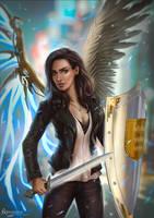 Commission: Joanna by EvaS0L0