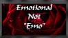 "Emotional, not ""emo"" by Jaynr"