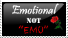 "Update: Emotional not ""Emo"" by Jaynr"