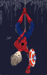 Reboot de Spiderman , Version Civil War by Bryanchicozombie