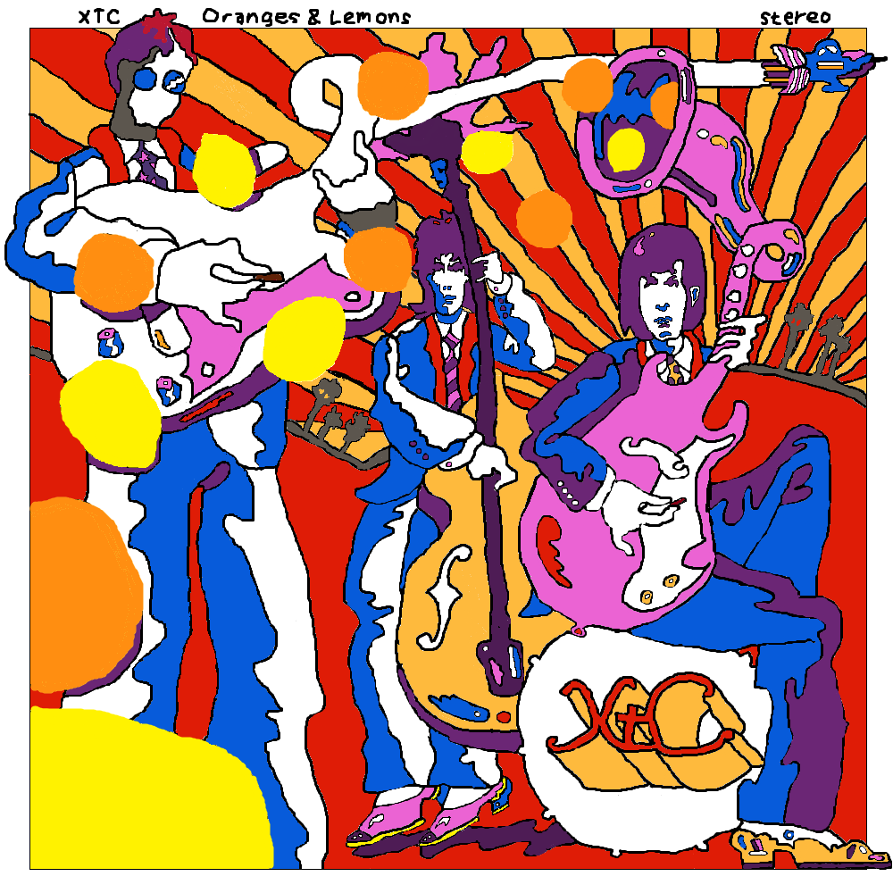 XTC's Oranges and Lemons by lordwindowlicker