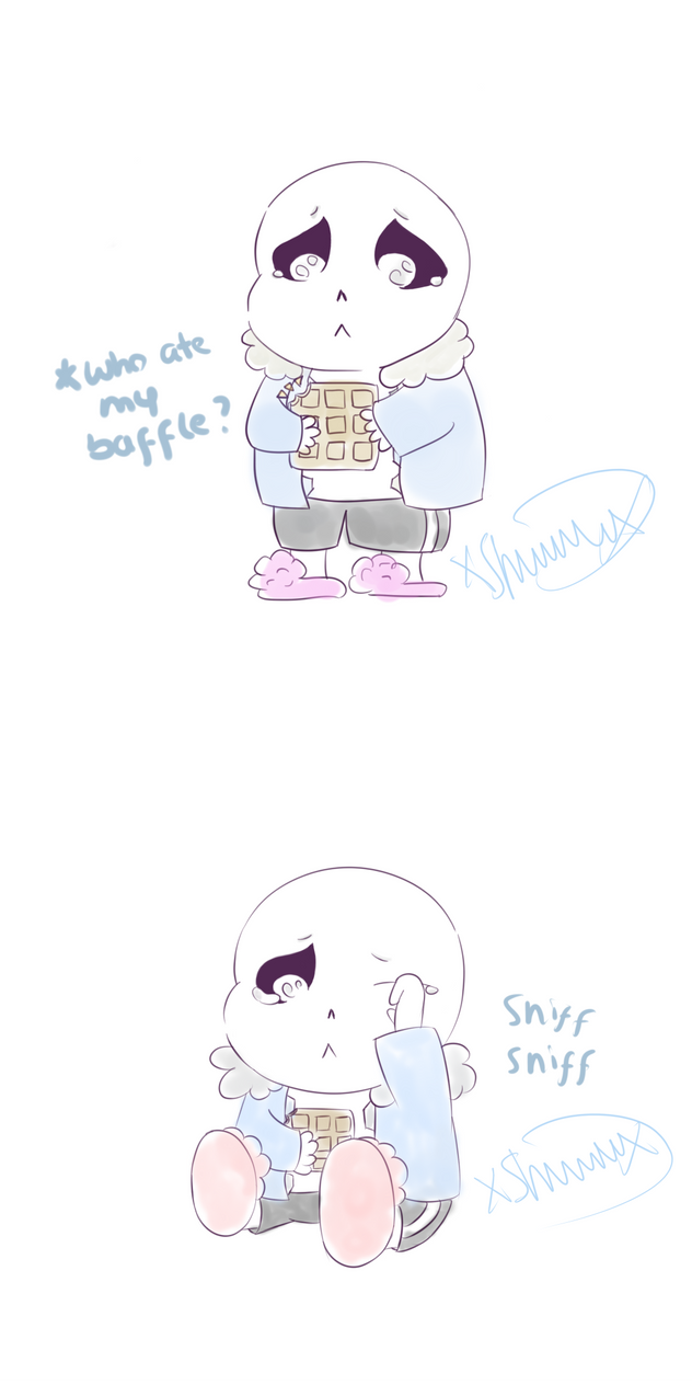 The sad story of sans' baffle join1 by Dreamforxver