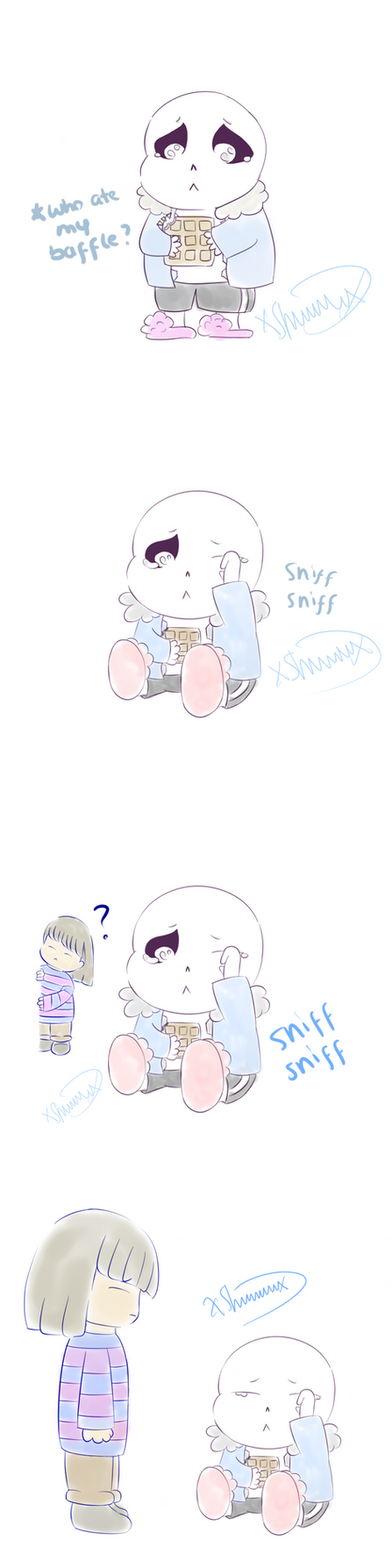 The sad story of sans' baffle join3 by Dreamforxver