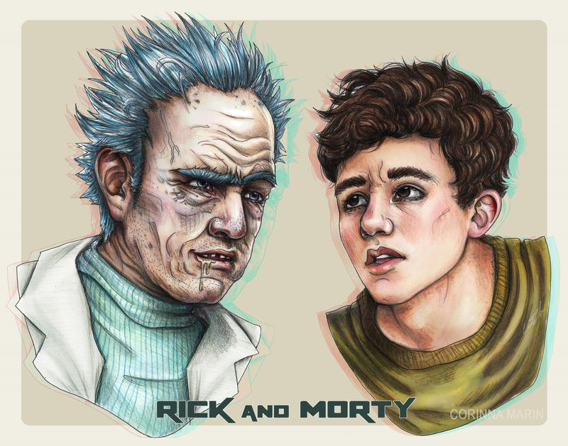 Rick and Morty by Miimochi
