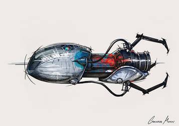 Stylized Portal Gun by Miimochi