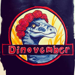 DINOVEMBER IS HERE by cosmicDancing