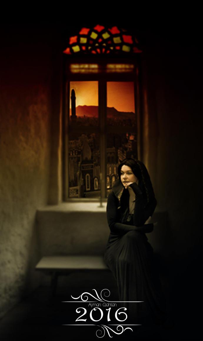 A Castle Window By Ravenslane-d3h0mvg by Ayman7Qahtan