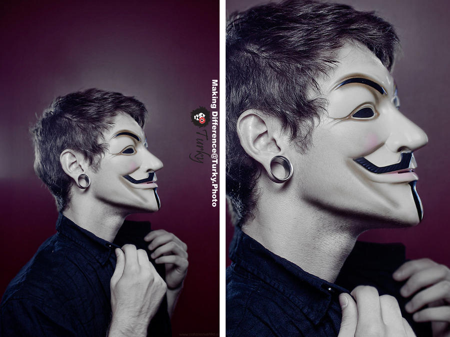 Vendetta Mask by T0rky