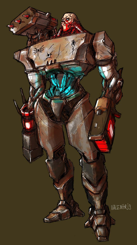 Tank Cyborg by ValentrisRRock