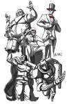 Villians of Contra: Hard Corps