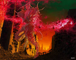 Cyberdemon by ValentrisRRock