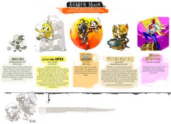 Alternative Mascots by ValentrisRRock