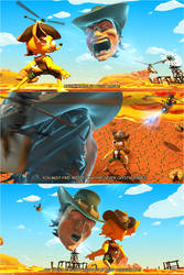 Dash Dingo: Outback in Business, cutscene by ValentrisRRock