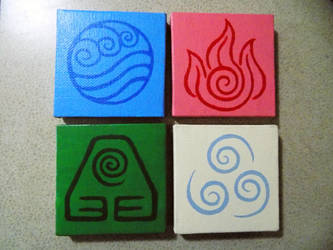 Avatar The Last Airbender Fridge Magnets by boolengleng
