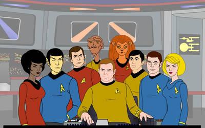 TAS Cast by Kail Tescar by Captain34