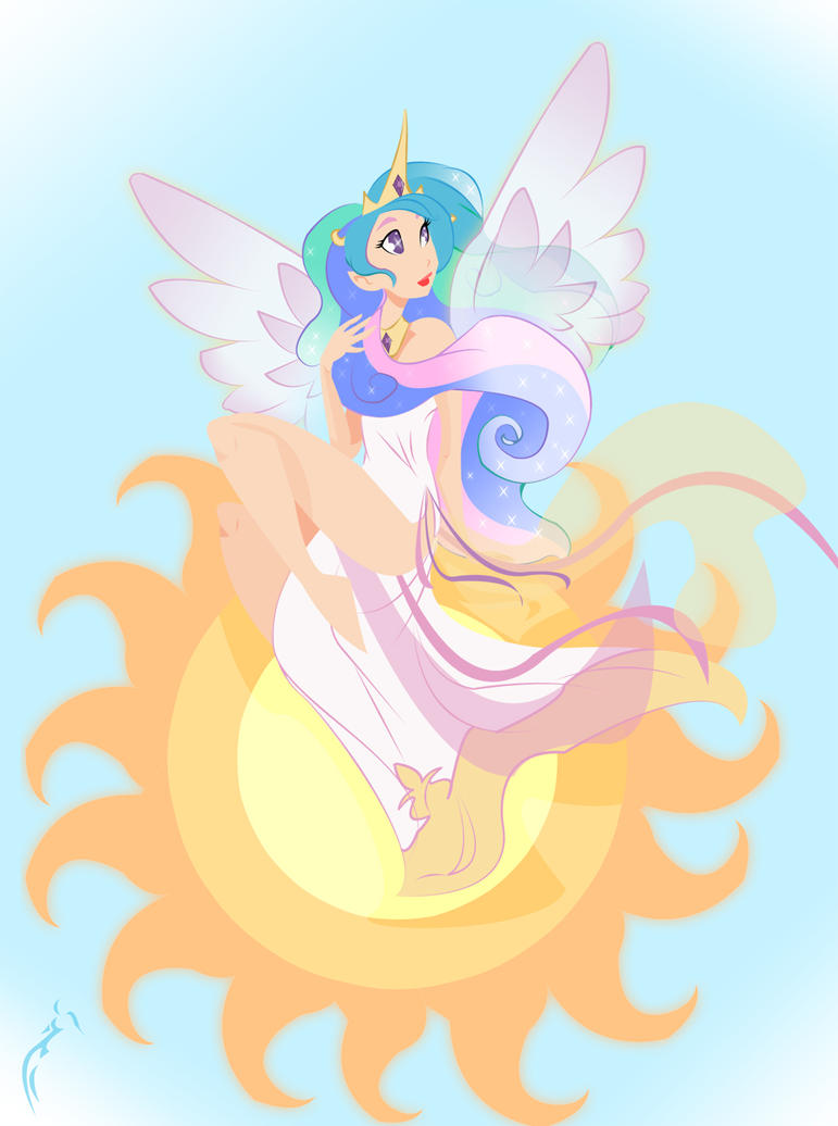 Celestia by RaineKitty