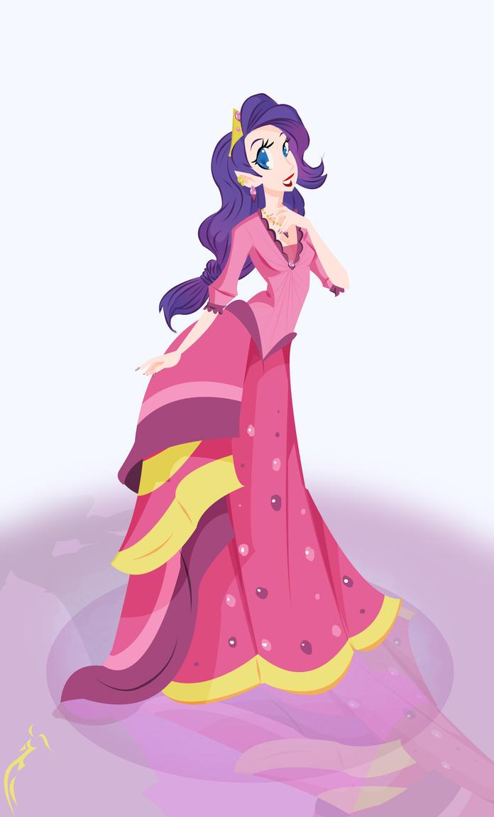 Feeling like a Princess Rarity by RaineKitty