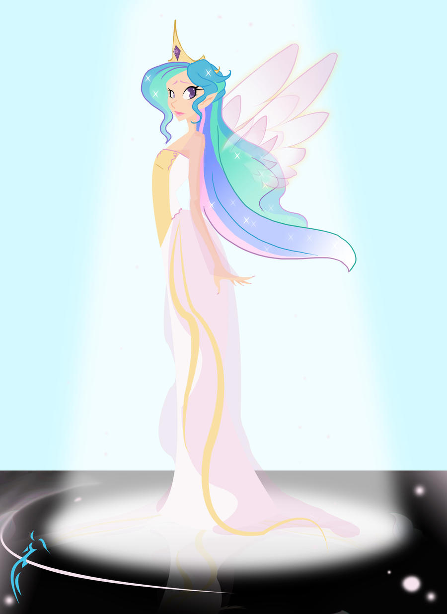 At the Ball Celestia by RaineKitty