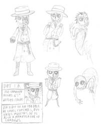 J.A.C. Sketches by Killerclaud