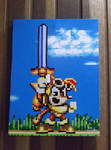 Gold Sparkster Painting -SOLD-