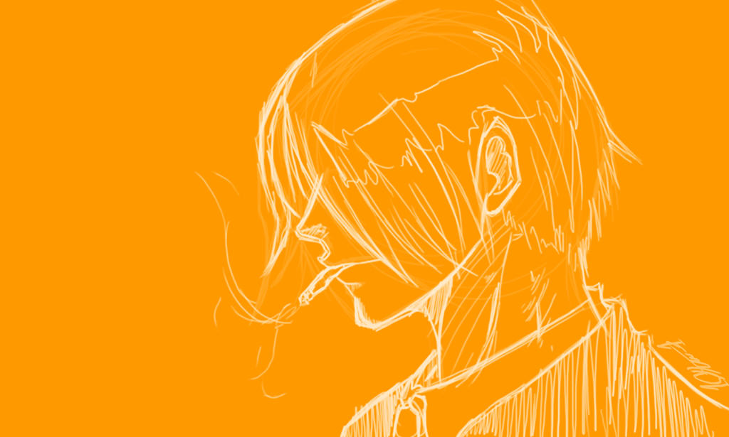 Sanji Wallpaper Yellow By Bigbossde On Deviantart