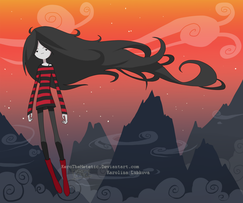 : Marceline : by KarolinaNoumenon