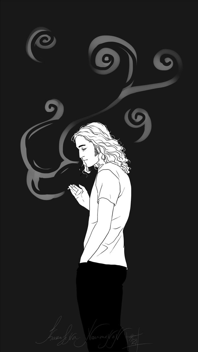 : Smoke : by KarolinaNoumenon