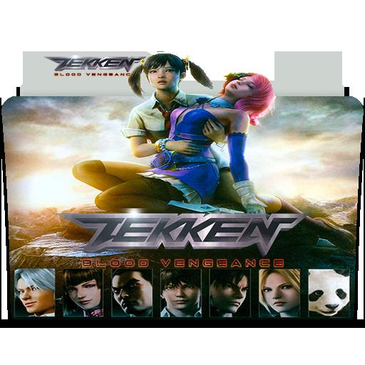 Tekken Blood Vengeance 2011 Folder Icon By Danzel1986 On Deviantart