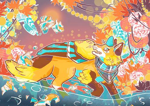 Firbet Fox Frolicking