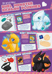Dragon Plushies Ad Page