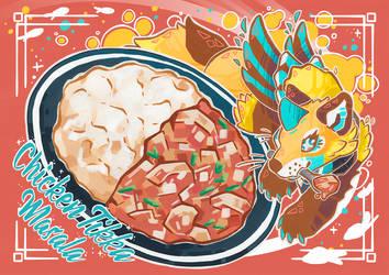 Chicken Tikka Masala Recipe Card