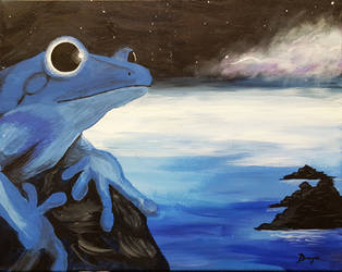 Cosmic Frog by dragix