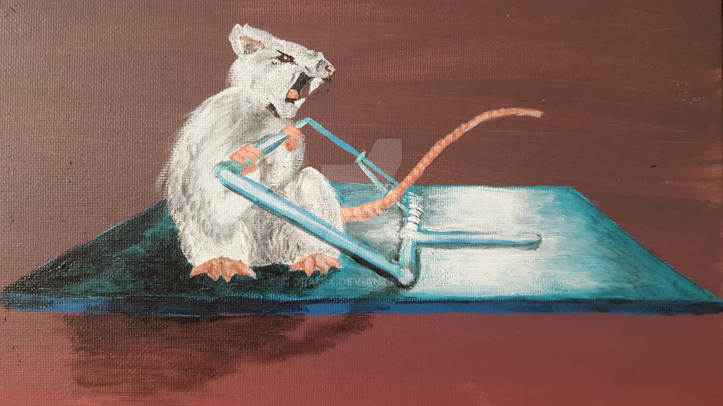 Gym Rat by dragix